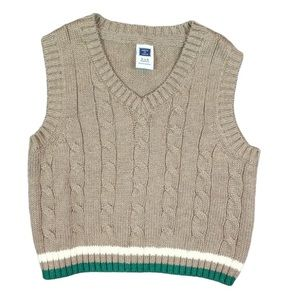 Janie & Jack Infant Boys Sweater Vest 3-6 Months
